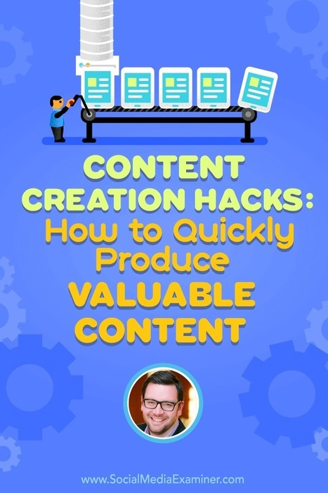 Content Creation Hacks: How to Quickly Produce Valuable Content  | Content Marketing and Curation for Small Business | Scoop.it