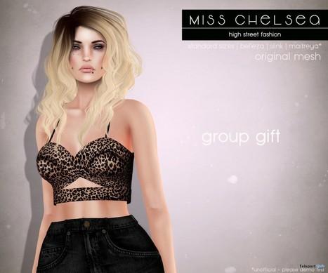 Cross Bralet Leopard Tank Top Group Gift by Miss Chelsea | Teleport Hub - Second Life Freebies | Second Life Freebies | Scoop.it