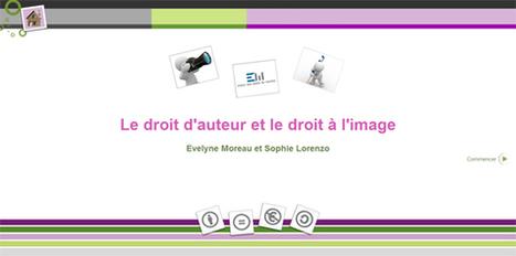 Le droit d'auteur et le droit à l'image - Mon classeur - lyclic.fr | Réseaux sociaux et usages pédagogiques | Scoop.it