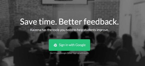 Kaizena - Add voice & Text comments, links for students. | iEduc | Scoop.it