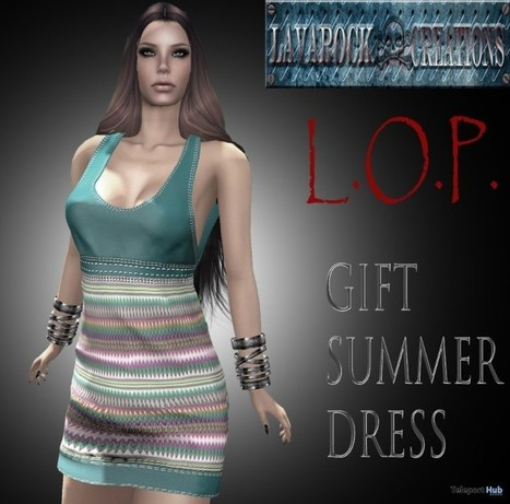 L.O.P Summer Dress Group Gift by Lavarock Creations | Teleport Hub - Second Life Freebies | Second Life Freebies | Scoop.it