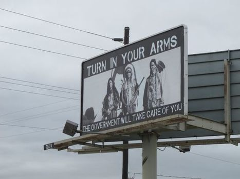 Native Americans incensed over pro-gun rights billboard in Colorado | Gun Rights in Utah | Scoop.it