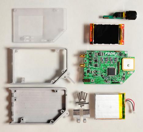 PSDR - Pocket HF SDR Transceiver with VNA and GPS | Heron | Scoop.it