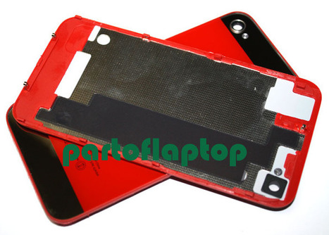 Red iPhone 4S GLASS Battery Door Back Cover w/ iPhone 5 Style+open TOOLS   iPhone 4S Battery Cover With  iPhone 5 Style   Scoop.it