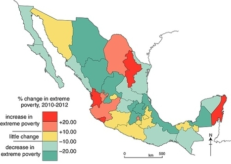 Extreme poverty declined between 2010 and 2012   Geo-Mexico, the geography of Mexico   JESS Arabian Ranches   Scoop.it