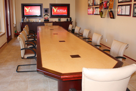 Conference Table – Choose The Ideal One That Will Fit Your Meeting Room | Office Furniture | Scoop.it