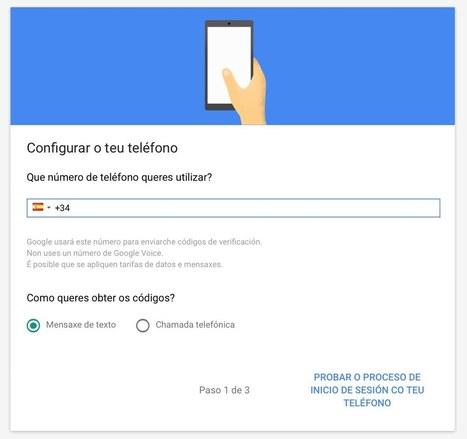 Guía práctica | Emprega a autenticación en dous pasos en Gmail - Xente Dixital | TECNOLOGÍA_aal66 | Scoop.it