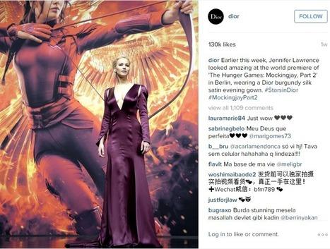 Hunger Games Social Buzz: from Katniss' Dress to Effie's Makeup - Talkwalker Blog – Social Media Monitoring & Analytics | Le travail en Europe | Scoop.it