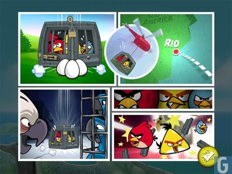 Angry Birds Rio Lands On The Android Market | Angry Birds | Scoop.it