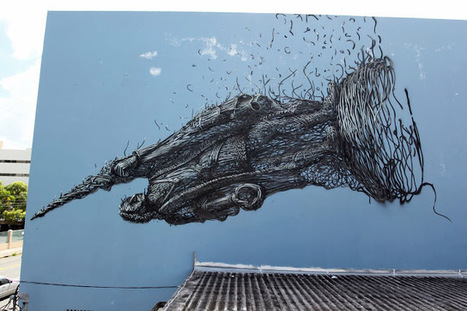 DALeast New Mural For Los Muros Hablan '13 – San Juan, Puerto Rico | World of Street & Outdoor Arts | Scoop.it