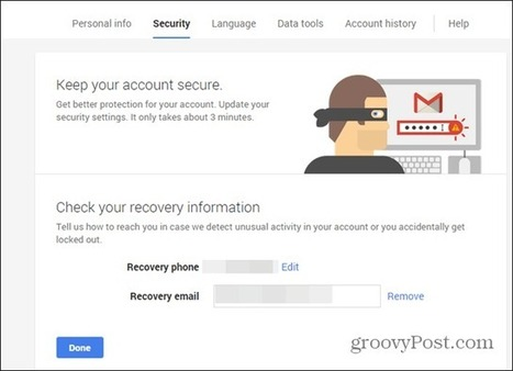 Google Dashboard Security Wizard Helps You Keep Things Safe | Time to Learn | Scoop.it
