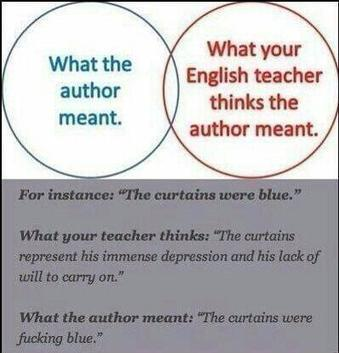Twitter / NuteIla: my english teacher vs. the ...   Professor   Scoop.it