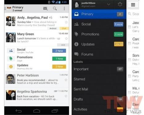 Gmail : une nouvelle boîte de réception avec tri automatique | Nouvelles Technologies | Scoop.it