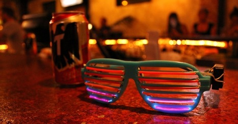 Stunna Shades With LED Lights Groove to the Music | LED News | Scoop.it