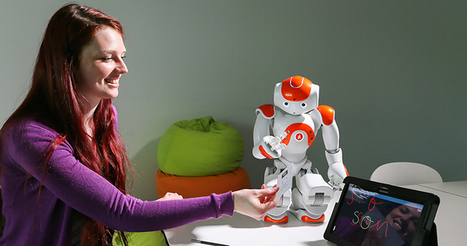 Children Learn Cursive by Teaching Robots - Inside Science News Service | Learning and Teaching Literacy | Scoop.it