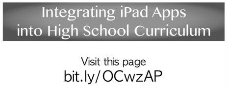 Integrating iPad Apps into High School Content - LiveBinder | Educational Literature | Scoop.it