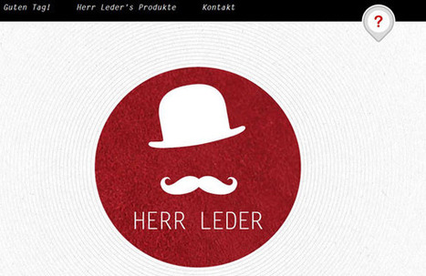 More Examples of Fresh Effects in Web Design | #websdesign inspiration | Scoop.it