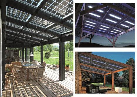 Innovation : Glasswing, le panneau photovoltaïque générateur de lumière | Economie Responsable et Consommation Collaborative | Scoop.it