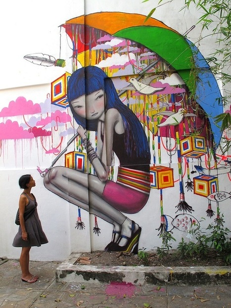 Global Street Artist Places Local People Next to His Murals - My Modern Metropolis | World of Street & Outdoor Arts | Scoop.it