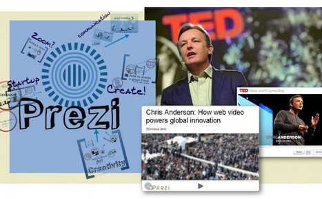 The Power of Online Video and Presentations – Chris Anderson from TED Talks creates a Prezi | Digital Presentations in Education | Scoop.it