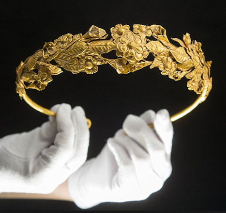 British pensioner 'finds' 2,300 year old ancient Greek gold crown in box under his bed | Histoire et Archéologie | Scoop.it