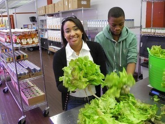 Hydroponic farm in Brooklyn serves up fresh veggies for food bank | Vertical Farm - Food Factory | Scoop.it