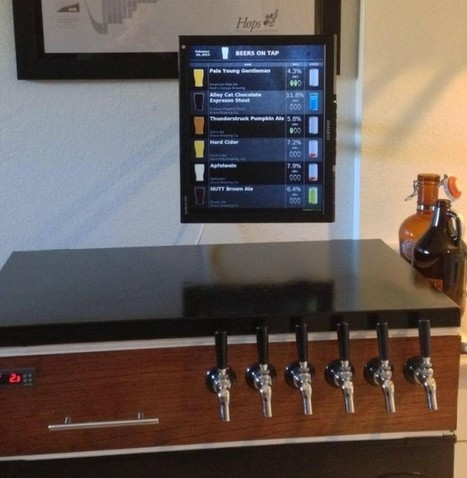 Beer Maker Builds a Raspberry Pi Tap List for His Home Brews   Raspberry Pi   Scoop.it