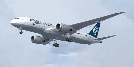 AirNZ repaint for the Aerosim 787 | air new zealand | Scoop.it