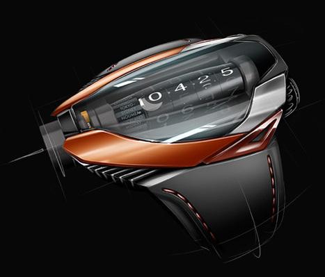 FLOTspotting :: AK Geneve HYBRID mvt Watch, by Thierry Fischer   Art, Design & Technology   Scoop.it