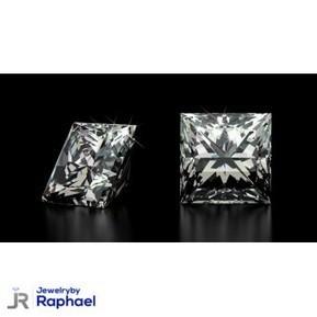1.00 Carat Princess Cut D SI2 100% Natural Loose Diamond CT IGL Certified 5.31*5.11*3.98 Must See! | jewelrybyraphael | Scoop.it