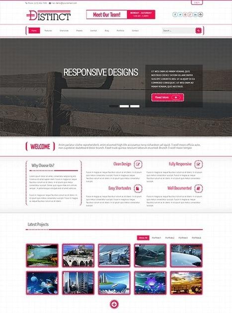 TM Distinct - Responsive Business Joomla Template | Free & Premium Joomla Templates and WordPress Themes | Scoop.it