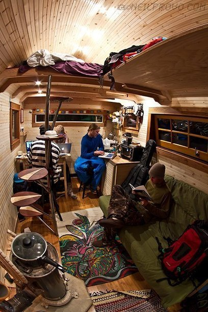 Sidecountry Sessions Tiny House   Small All Season Homes On Wheels   Scoop.it