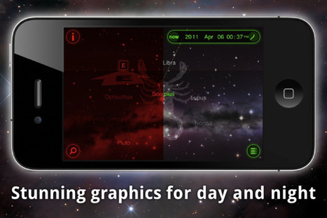 Star Walk - 5 Stars Astronomy Guide for iPhone, iPod touch, and iPad on the iTunes App Store | Augmented Reality News and Trends | Scoop.it