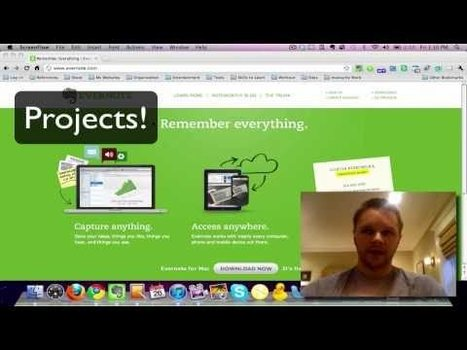 How to Use Evernote Tutorial Series | Cool Web Tools for Education | Scoop.it