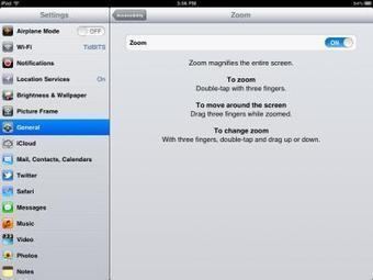 iPhone iPad iPod: Beware Accidental Zooming in iOS  | TidBITS | Tech in Education | Scoop.it