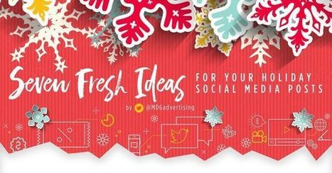 Holiday Marketing 2016: 7 Fresh Ideas for Your Holiday Social Media Posts [Infographic] | Infographic Marketing | Scoop.it