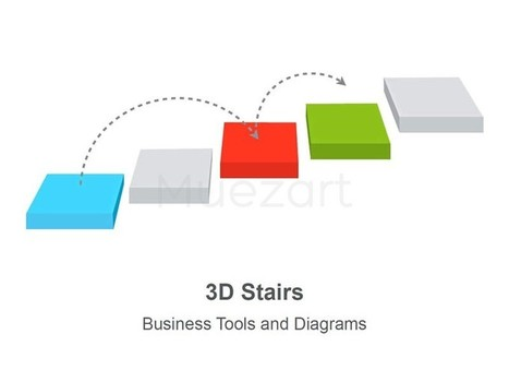 3D Stairs Diagram - Editable in Apple Keynote | Tech Stuff | Scoop.it