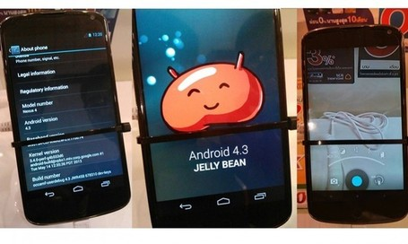 Nexus 4 con Android 4.3 filtrado | Tecnologías Mobile | Scoop.it
