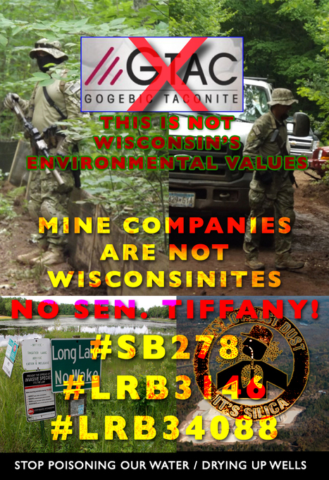 Wis. Mining legislation foes say bill to eliminate local control over #WIMINE - #LRB 3146 #LRB3408 | Ethnobotany: plants and people | Scoop.it