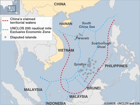 """The """"chinese sea"""" or strategic roads to Asia 