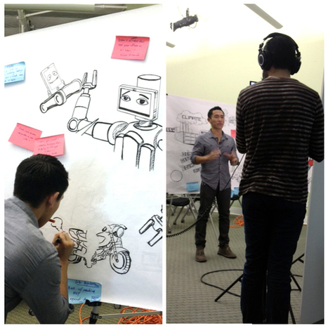 Graphic Recording at #illustraTED | Progress Enigma | Business Design Innovation | Scoop.it