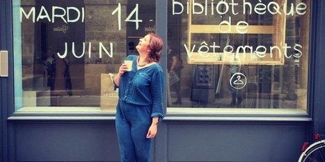 Bordeaux : la première bibliothèque de vêtements ouvre ses portes aujourd'hui | La vie des BibliothèqueS | Scoop.it