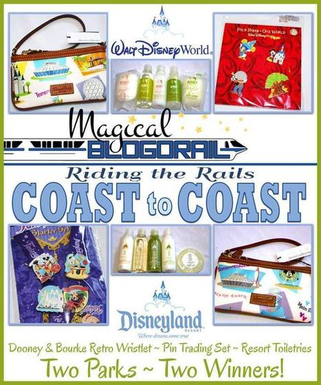 Magical Blogorail Coast to Coast Giveaway - Rolling with the Magic | Walt Disney World Parks and Resorts | Scoop.it