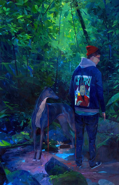 On View: Mel Kadel and Andrew Hem at Merry Karnowsky Gallery | Hi-Fructose Magazine | Culture and Fun - Art | Scoop.it