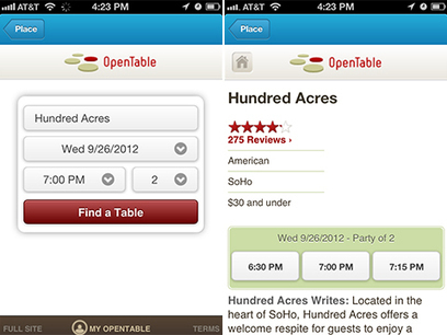 You Can Now Make Restaurant Reservations via Foursquare | Social Media Buzz | Scoop.it