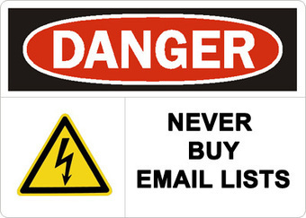 6 Reasons Why You Should Never Buy an Email List | Email deliverability | Scoop.it