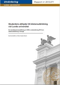 Flexspan: Studenters attityder till distansutbildning - ny rapport | Folkbildning på nätet | Scoop.it