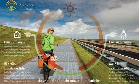 SolaRoad, la 1ère route solaire du monde ! (UP Magazine) | Curiosités planétaires | Scoop.it