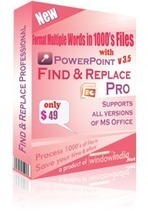 PowerPoint find & replace has the ability to find and replace words from PPT | Data Copy Software| Data Transfer Software | Scoop.it