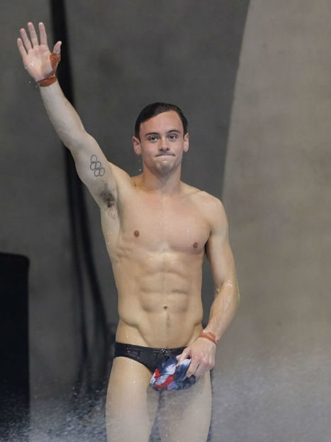 Sexy Tom Daley at The Diving World Series | Celebrity Hunks | Scoop.it